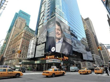 Steun vanuit onverwachte hoek. Dank New York. Let's make Kampen.. even greater. #kampengreater #waardevolkampen